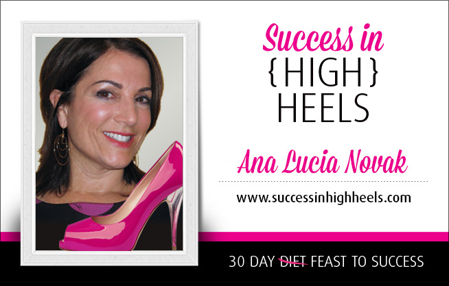 Ana Lucia Novak - success in high heels