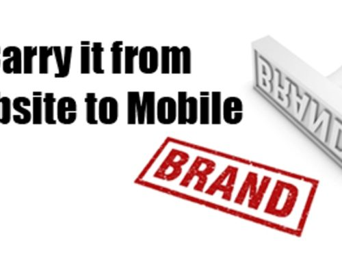 Carrying Your Brand From Web to Mobile