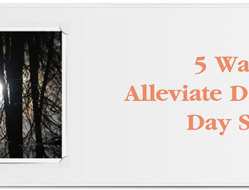 5 Ways to Alleviate Day to Day Stress