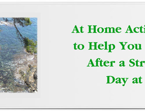 At Home Activities to Help You Relax After a Stressful Day at Work