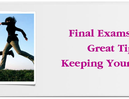 Final Exams: Five Great Tips for Keeping Your Cool
