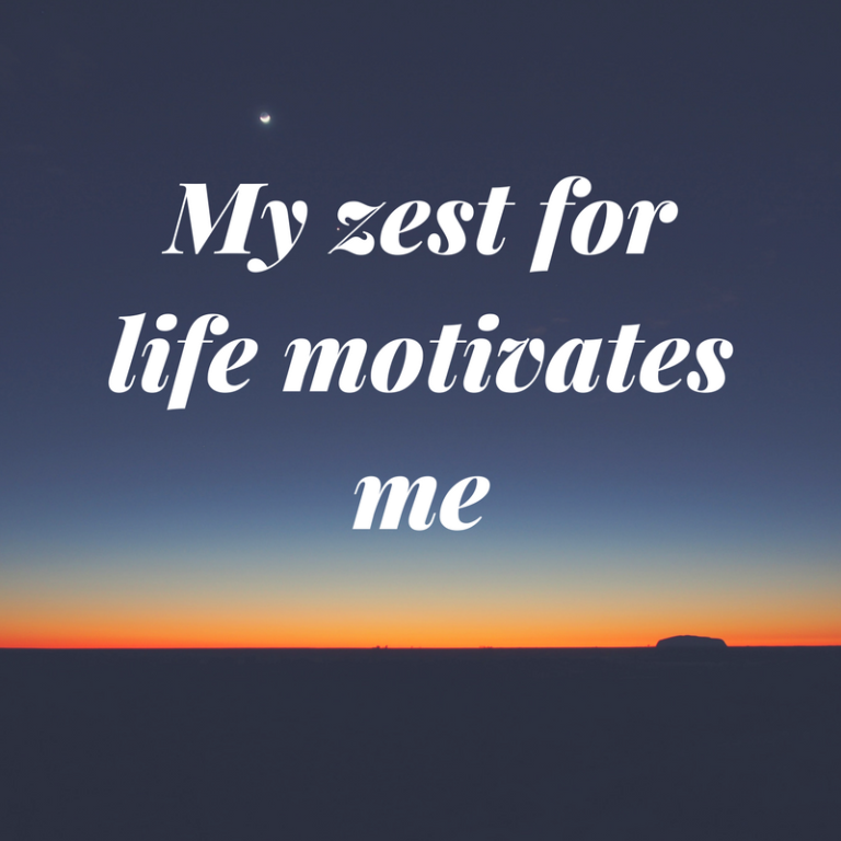what motivates me It is said that1 of6 things will motivate a person in life:  my personal experience  is motivating me every single day of my life, i learnt a lot from.