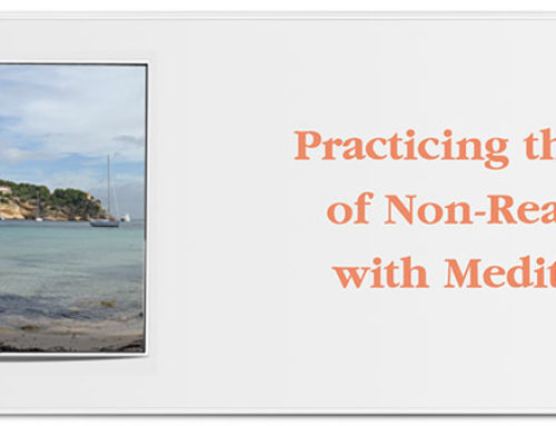 Practicing the Art of Non-Reaction with Meditation
