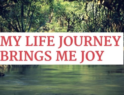My life journey brings me joy