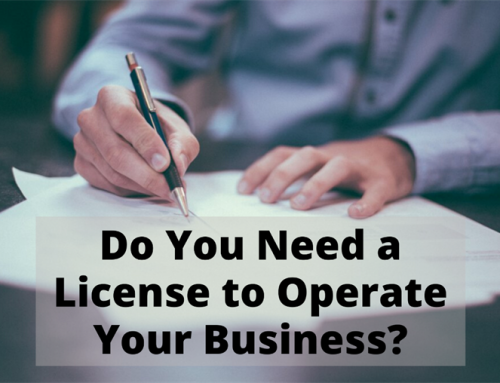 Do You Need a License to Operate Your Business?