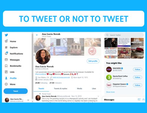 To Tweet or Not to Tweet