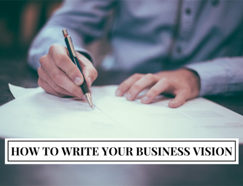 How to Write Your Business Vision